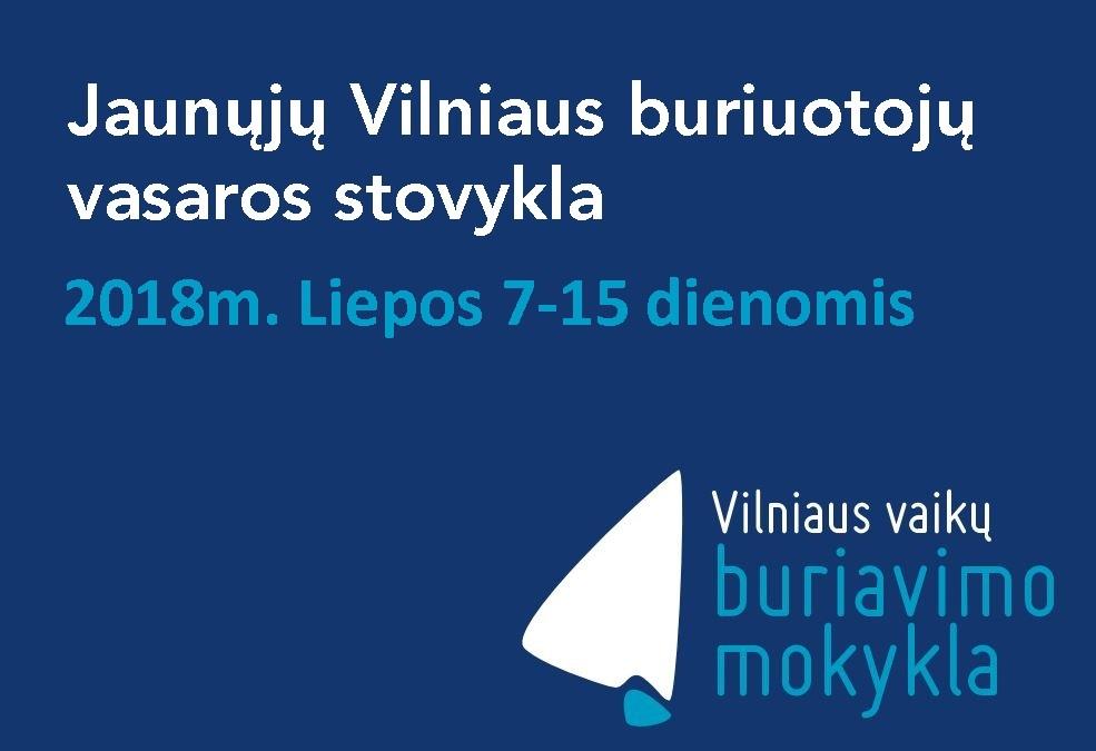 Jaunųjų Vilniaus buriuotojų vasaros stovykla