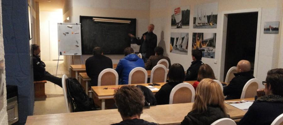 Gero vėjo klube seminarai apie sportinį buriavimą ir ne tik