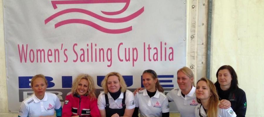 """Lietuvos moterų komanda """"Gero vėjo mūzos"""" laimėjo 3 vietą Italijos moterų buriavimo taurėje"""
