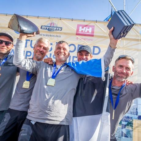 "Platu 25 World Champions 2021 – the Estonian team ""Penelope"""